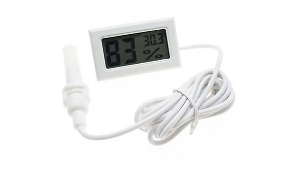 FY12 Mini LED Dijital Termostat (Beyaz)