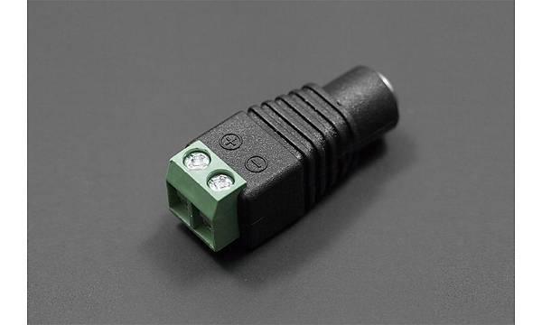 DC Power Jak - Diþi Giriþ Klemens 5.5x2.1mm