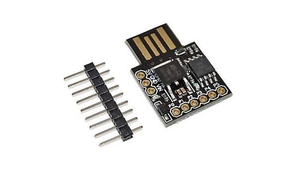 Arduino ATtiny85 USB Geliþtirme Kartý