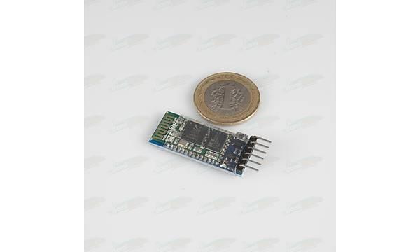 HC06 kablosuz Bluetooth Modül Kartý- 6 Pin Reset Butonlu