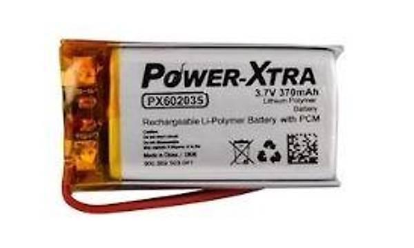 3.7 V Lipo Batarya 440 mAh - Devreli 1.5A
