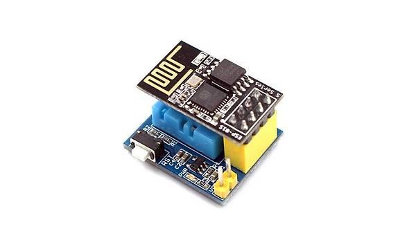 DHT11 ile WiFi Sýcaklýk ve Nem Sensör Modülü