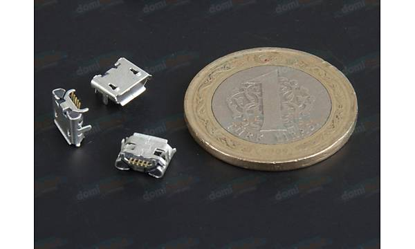 Micro Usb Type-B 5 Pin - D065