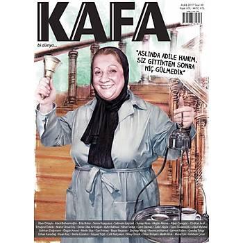 KAFA Dergisi 40.sayý