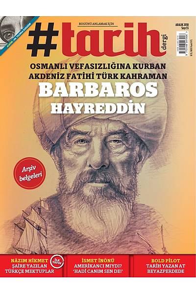 #Tarih Dergi 55.sayý