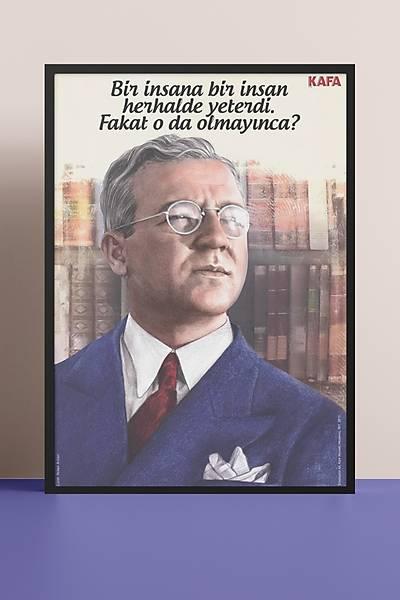 Sabahattin Ali 50x70 Poster