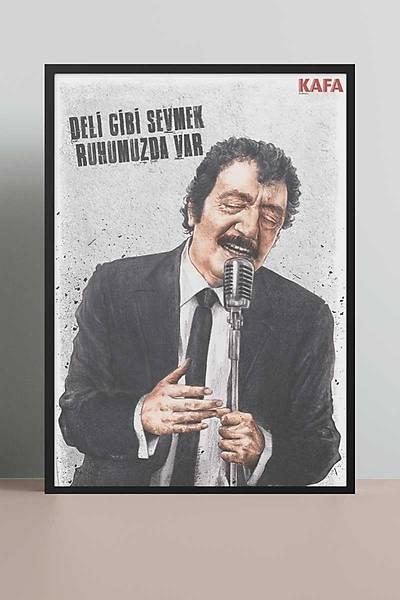 Müslüm Gürses 50x70 Poster