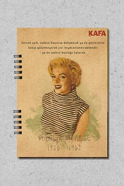 Marilyn Monroe (Not Defteri)