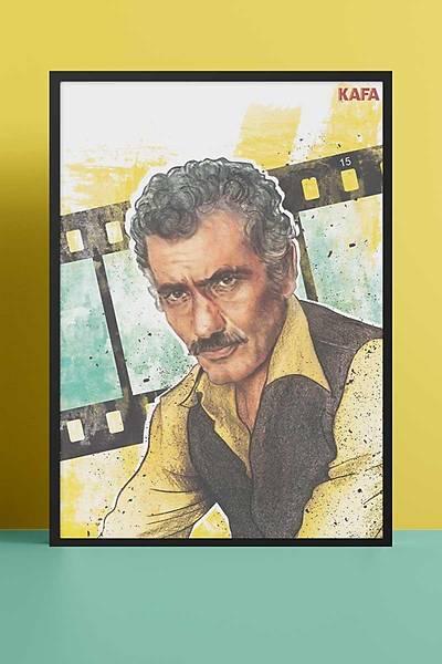 Yýlmaz Güney 50x70 Poster