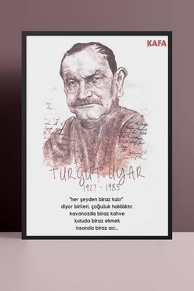 Turgut Uyar 50x70 Poster
