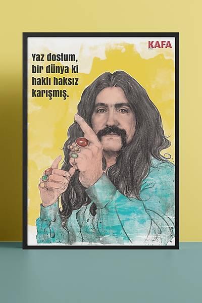 Barýþ Manço 50x70 Poster