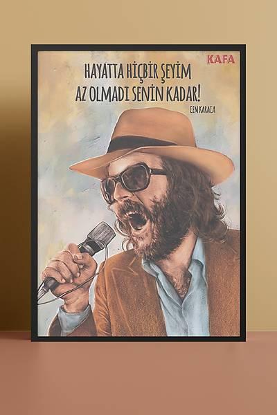 Cem Karaca 50x70 Poster