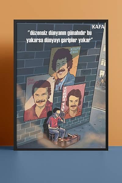Babalar 50x70 Poster