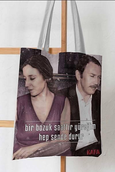 Tomris-Turgut Uyar Bez Çanta