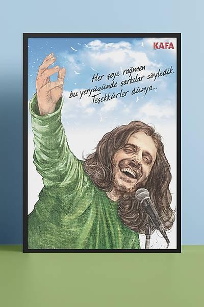 Kazým Koyuncu 50x70 Poster