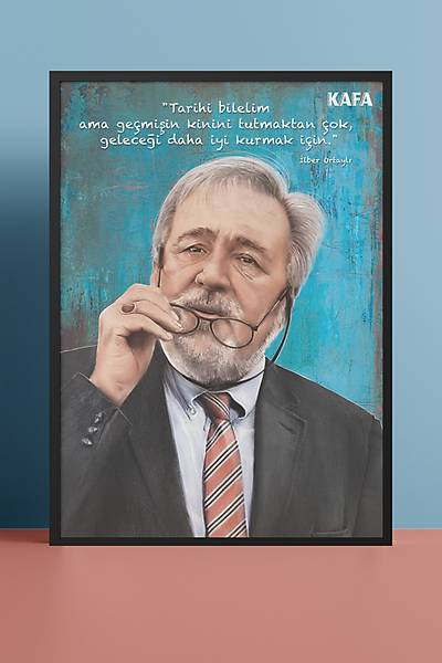 Ýlber Ortaylý 50x70 Poster