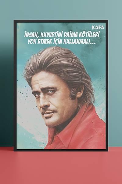 Cüneyt Arkýn 50x70 Poster