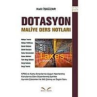 Ýkinci Sayfa Yayýnlarý Dotasyon Maliye Ders Notlarý Halil Ýþgüzar