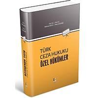 Adalet Yayýnlarý Türk Ceza Hukuku Özel Hükümler (Koca/Üzülmez)