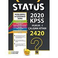 Gazi Yayýnlarý Status KPSS A Gurubu Hukuk I Çalýþma Kitabý