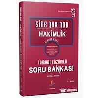 Dizgi Kitap Sine Qua Non Hakimlik Kamu Hukuku Tamamý Çözümlü Soru Bankasý 2021-soysal Aygün