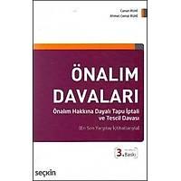 Seçkin Yayýnevi Önalým Davalarý (Ahmet Cemal Ruhi-Canan Ruhi)