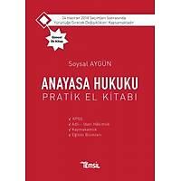 Temsil Yayýnlarý Anayasa Hukuku Pratik El Kitabý Soysal Aygün