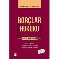 Adalet Yayýnlarý Borçlar Hukuku Genel Hükümler (Mehmet Remzi-Sezer Aydýn)