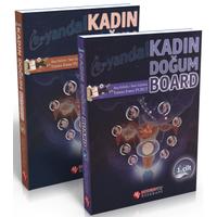 Modern Týp Kitabevi Kadýn Doðum Board Cilt 1-2 Yunus Emre Purut