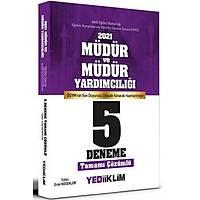 Yediiklim Yayýnlarý 2021 MEB EKYS Müdür ve Müdür Yardýmcýlýðý Tamamý Çözümlü 5 Deneme