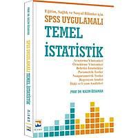 Nisan Yayýnlarý SPSS Uygulamalý Temel Ýstatistik Eðitim Saðlýk ve Sosyal Bilimler için - Kazým Özdamar