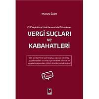 Adalet Yayýnlarý Vergi Suçlarý ve Kabahatleri (Mustafa Özen)