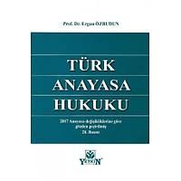 Yetkin Yayýnlarý Türk Anayasa Hukuku (Ergun Özbudun)
