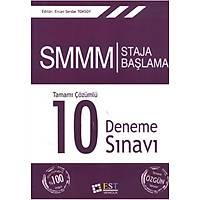 EST Yayýnlarý SMMM Staja Baþlama Tamamý Çözümlü 10 Deneme Sýnavý