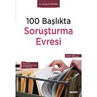 Seçkin Yayýnevi 100 Baþlýkta Soruþturma Evresi (Cüneyd Altýparmak)