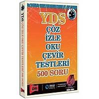 Yargý Yayýnevi Yargý Yayýnlarý YDS Çöz Ýzle Oku Çevir Testleri 500 Soru (Fuat Baþkan)