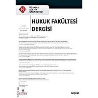 Seçkin Yayýncýlýk Ýstanbul Kültür Üniversitesi Hukuk Fakültesi Dergisi Cilt: 20 – Sayý:1 Ocak 2021