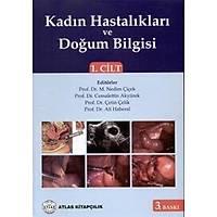 Atlas Týp Kitabevi Kadýn Hastalýklarý ve Doðum Bilgisi Cilt 1-2 Nedim Çiçek
