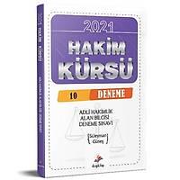 Hakim Kürsü Alan Bilgisi Adli Hakimlik 10 Deneme Sýnavý Dizgi Kitap Yayýnlarý 2021