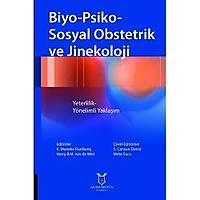 Akademisyen Kitabevi Biyo-Psiko-Sosyal Obstetrik ve Jinekoloji