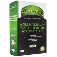 Monopol Yayýnlarý Adli Hakimlik Özel Hukuk Çözümlü Soru Bankasý Ömer Keskinsoy, Abdülkerim Yýldýrým