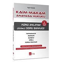 Akfon Yayýnlarý Kaim Makam Konu Özetli Soru Bankasý Anayasa Hukuku-Yigit Yýlmaz