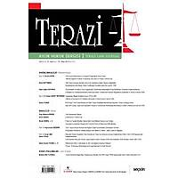 Seçkin Yayýncýlýk Terazi Aylýk Hukuk Dergisi Sayý: 176 Nisan 2021-Mutlu Dinç