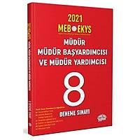 Editör Yayýnlarý 2021 MEB EKYS Müdür Müdür Baþyardýmcýsý ve Müdür Yardýmcýsý 8 Deneme Sýnavý