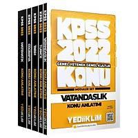 Yediiklim 2022 KPSS Genel Yetenek Genel Kültür Konu Anlatýmlý Modüler Set