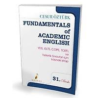 Pelikan Yayýnlarý Fundamentals Of Academic English Renkli Baský - Cesur Öztürk