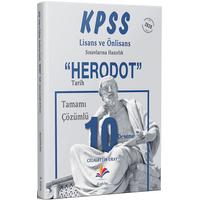 Dizgikitap Yayýnevi Herodot'' Tamamý Çözümlü 10 Tarih Deneme ( KPSS Lisans-Önlisans)