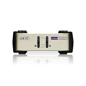 ATEN CS82U-AT 2-PORT PS/2-USB VGA KVM SWITCH