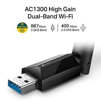 TP-LINK Archer T3U PLUS AC1300 HIGH GAIN DUAL BAND Wi-Fi USB ADAPTER