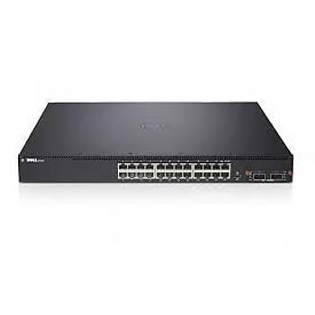 DELL NETWORKING DN3048-3PNBD N3048 L3 48x1GbE 2x10GbE SFP+ 1xAC PSU